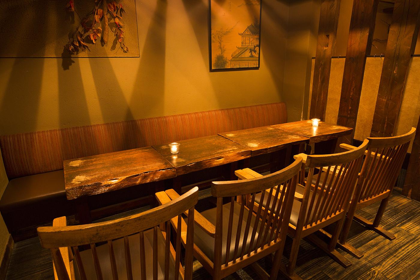 テーブル席【3~9名様】